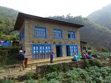 Les maisons Sherpas sont massives