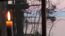 Vue de la fenêtre de Näskebodarna