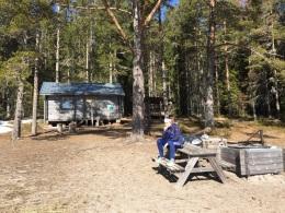 La première cabane (Näskebodarna)