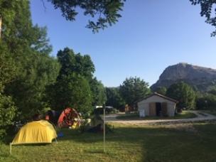 camping de Séderon