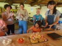 Mia fête ses 8 ans !